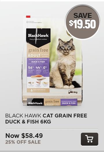 BH Cat Grain FRee Duck & Fish 6kg