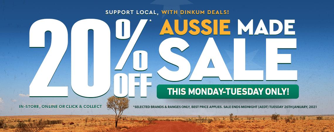 Aussie Sale Big