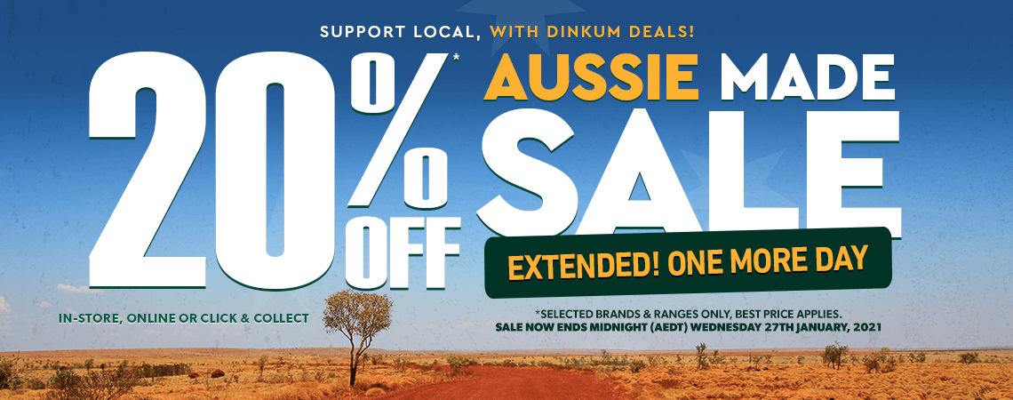 Aussie Sale Big