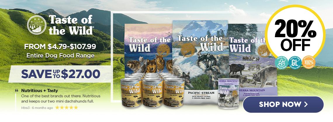 April Taste Of The Wild