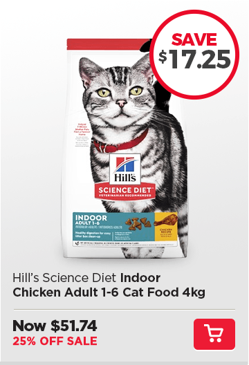 Hills Indoor Chicken Cat Food