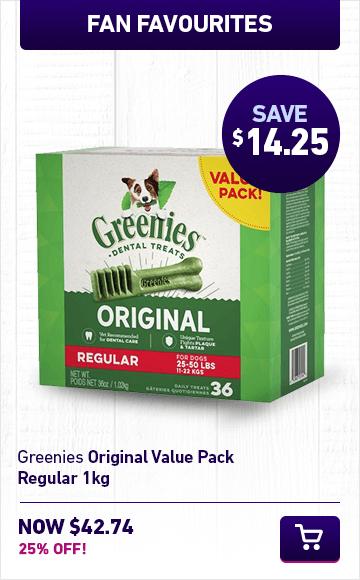 Greenies Original Value Pacl