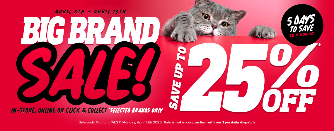 April Big Brand Sale