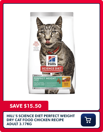 Hills Perfect Weight Cat Food