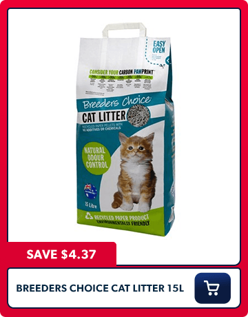 Breeders Choice Cat Litter 15l