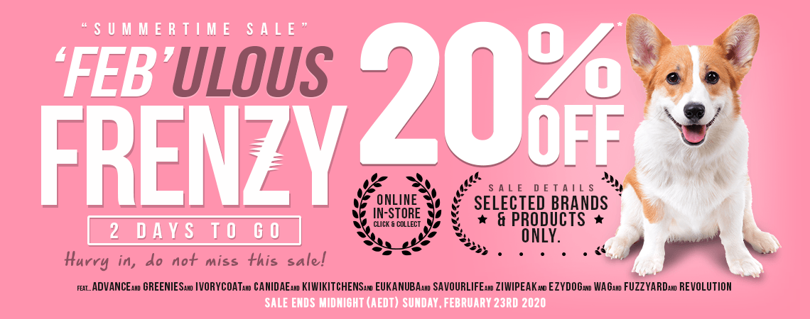 Feb Frenzy Sale