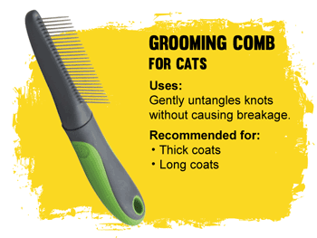 Grooming Comb for cats