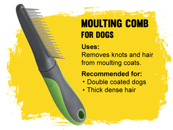 Grooming Moulting comb for dogs