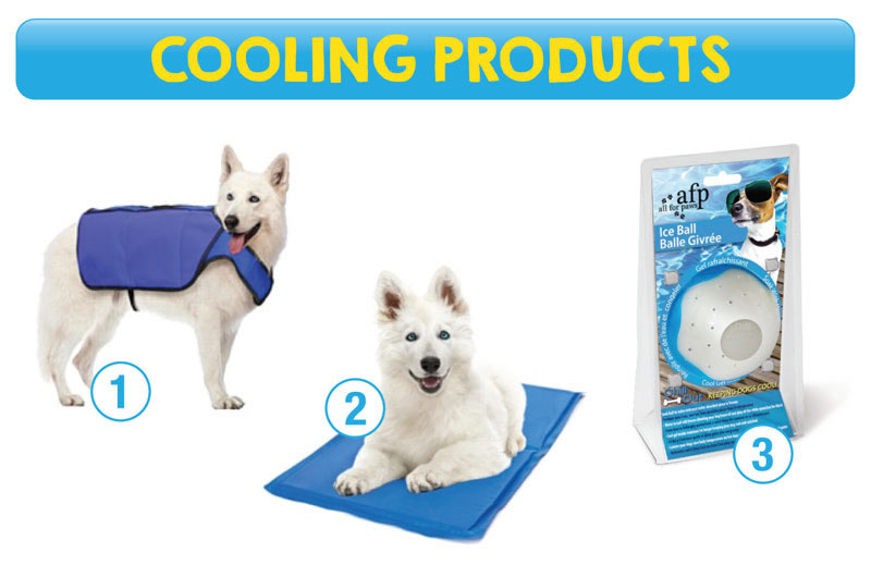 Cooling products for pets