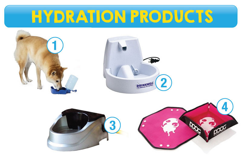Hydration products for pets