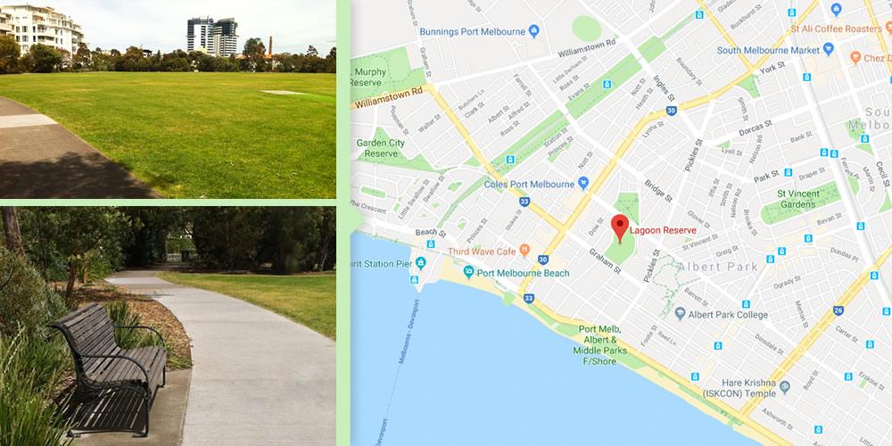 Dog Walks Melbourne - Albert Park Reserve