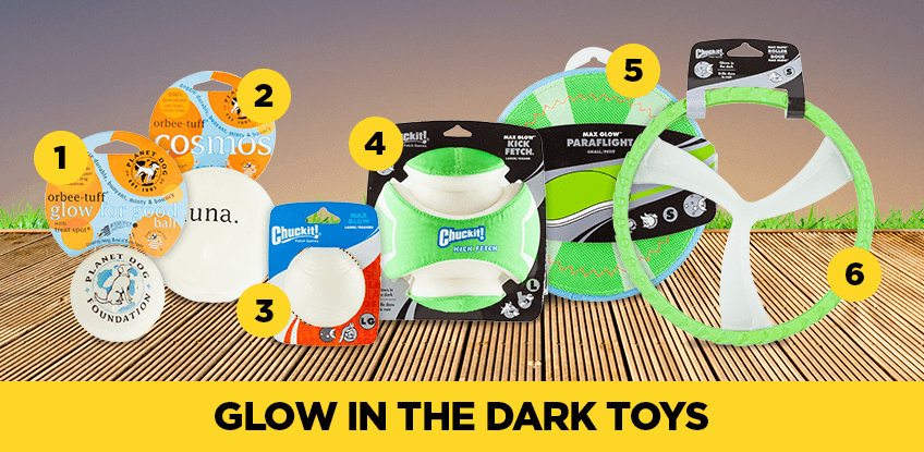Glow in the dark toys are great for Halloween