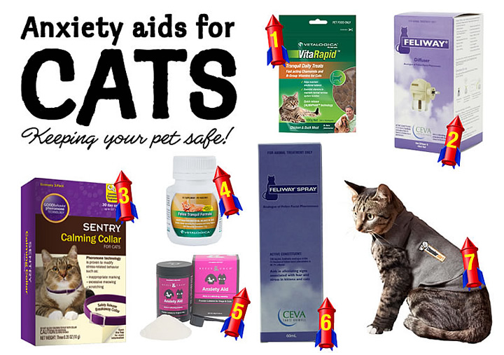 anxiety aids for cats
