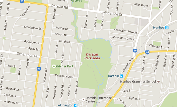 Off Leash Dog Park - Darebin