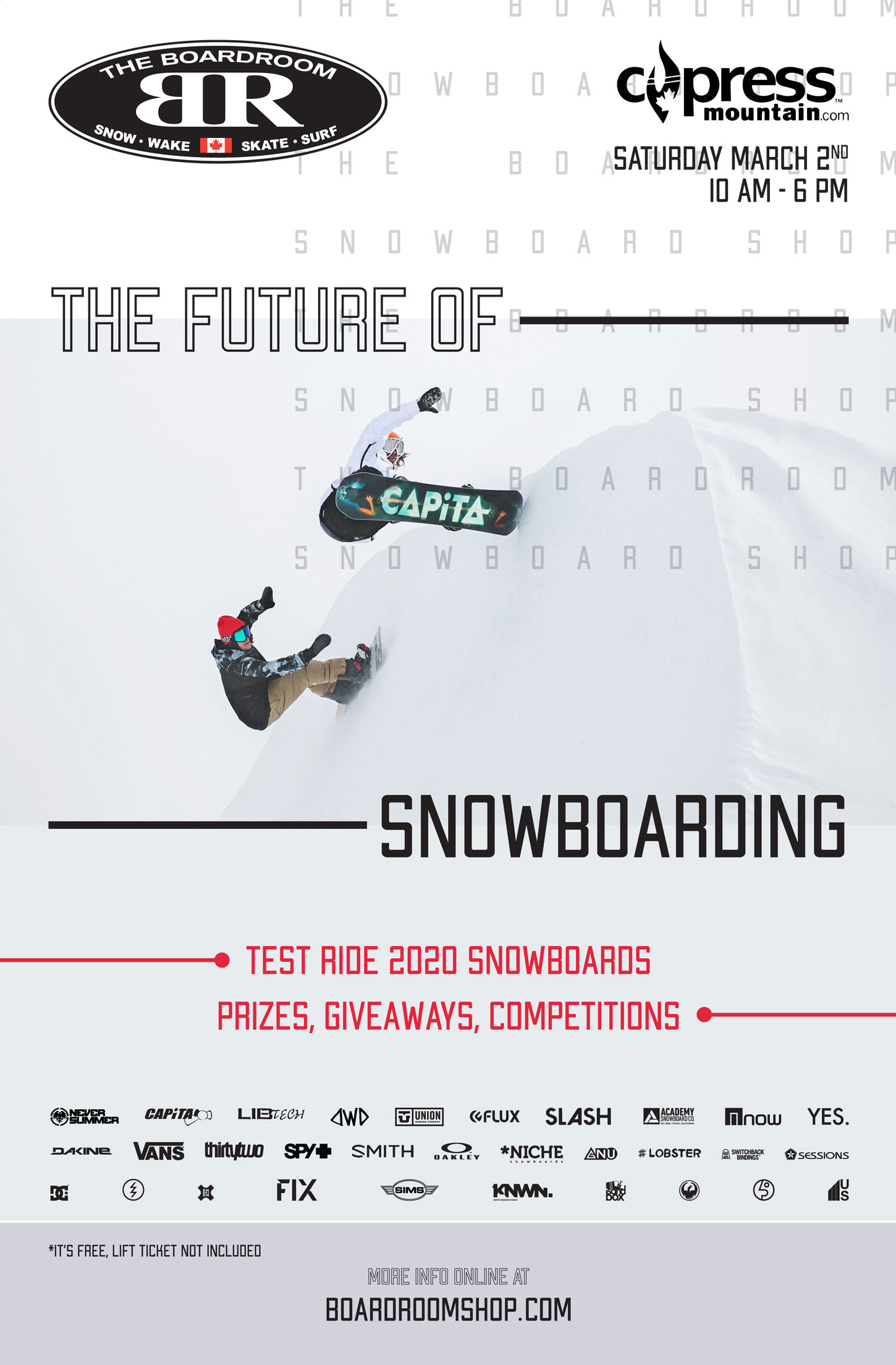 Future of Snowboarding 2019 Cypress Mountain