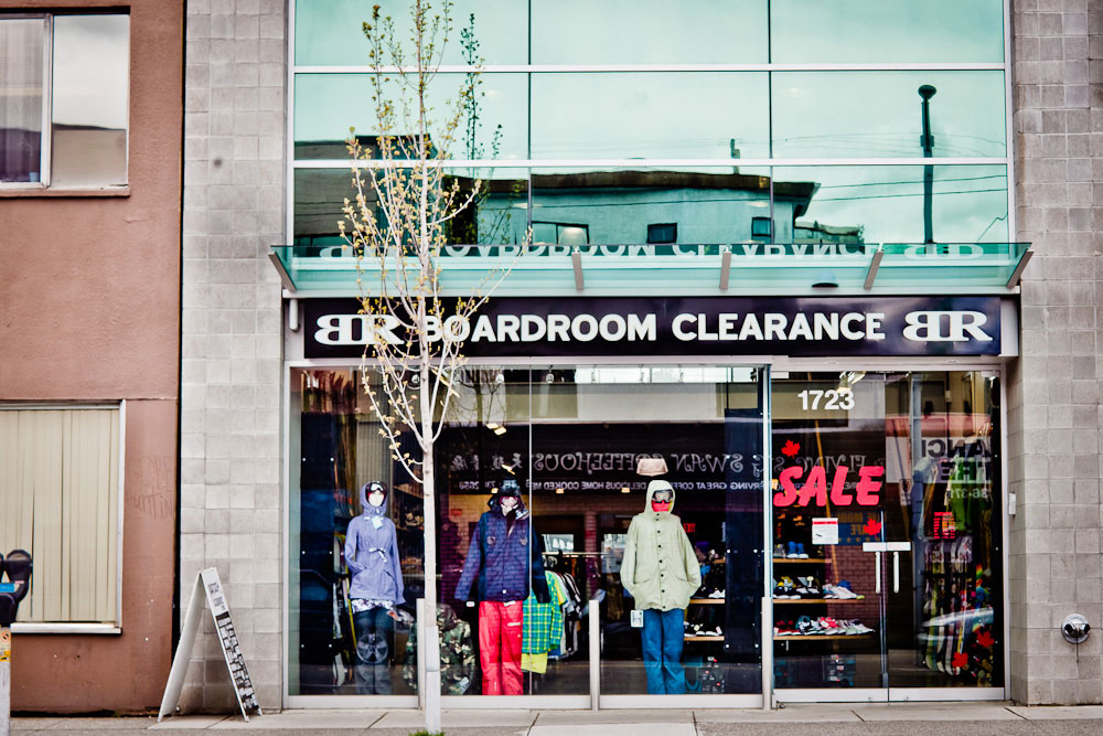 Boardroom Clearance two