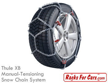 Thule XB manual-tensioning snow chain system