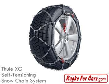 Thule XG self-tensioning snow chain system