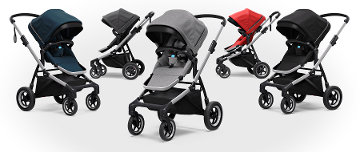 Thule Sleek Four Wheel Strollers