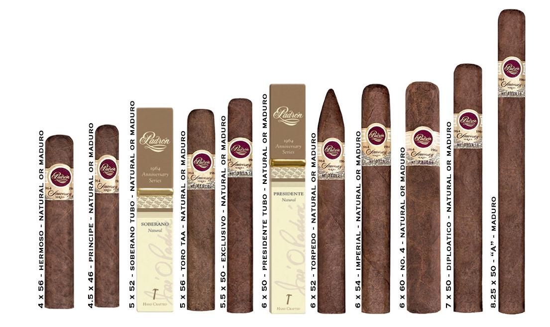 Cigar Box Padron Anniversary Series 1964 Maduro Wood ...