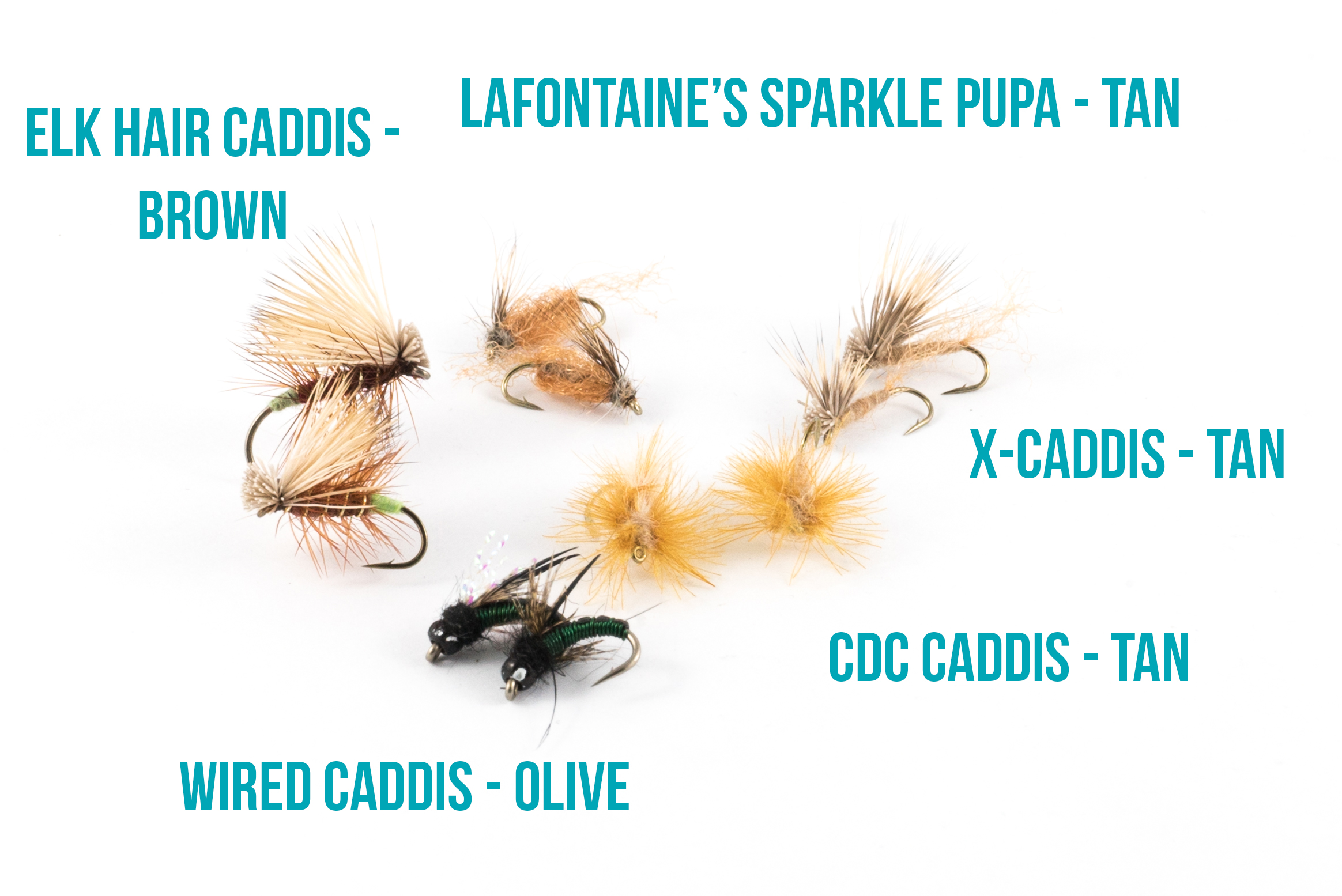 Mother's Day Caddis patterns