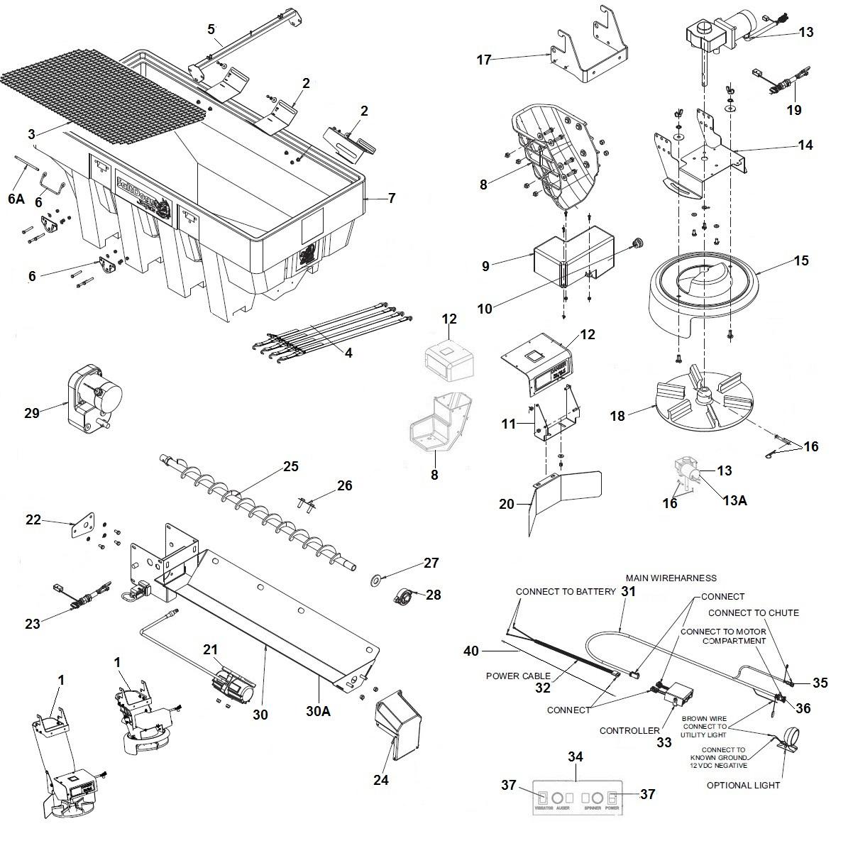 SaltDogg Shpe2000 Electric V Box Schematic
