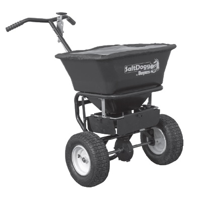 SaltDogg by Buyers WB101G Walk Behind Broadcast Spreader