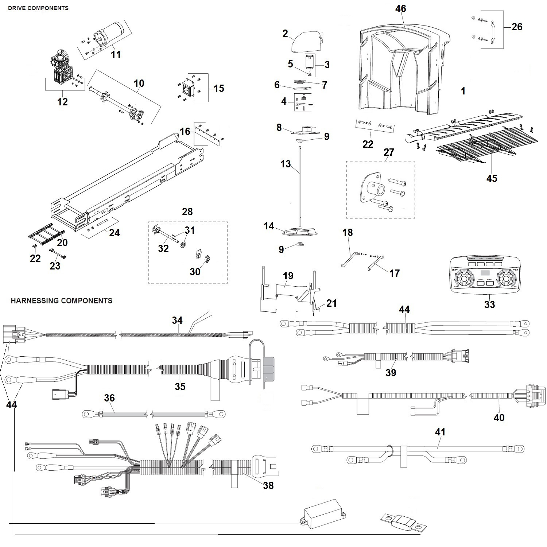 Western Tornado V Box Schematic