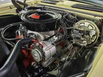 1969 Chevrolet Camaro SS 396-375 HP L-89