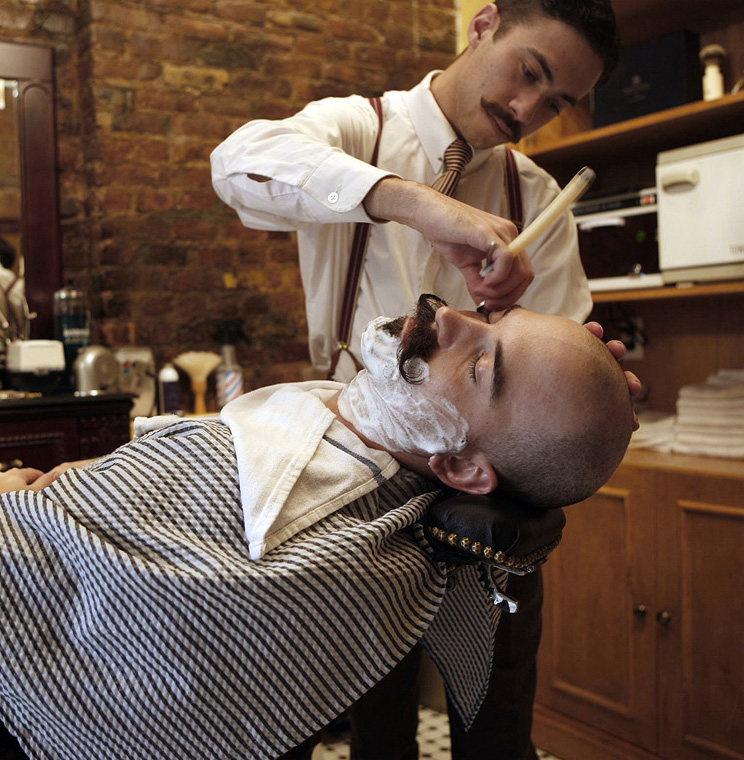 Barbershop Chair Image