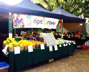 Ripe n Raw Organics Stall