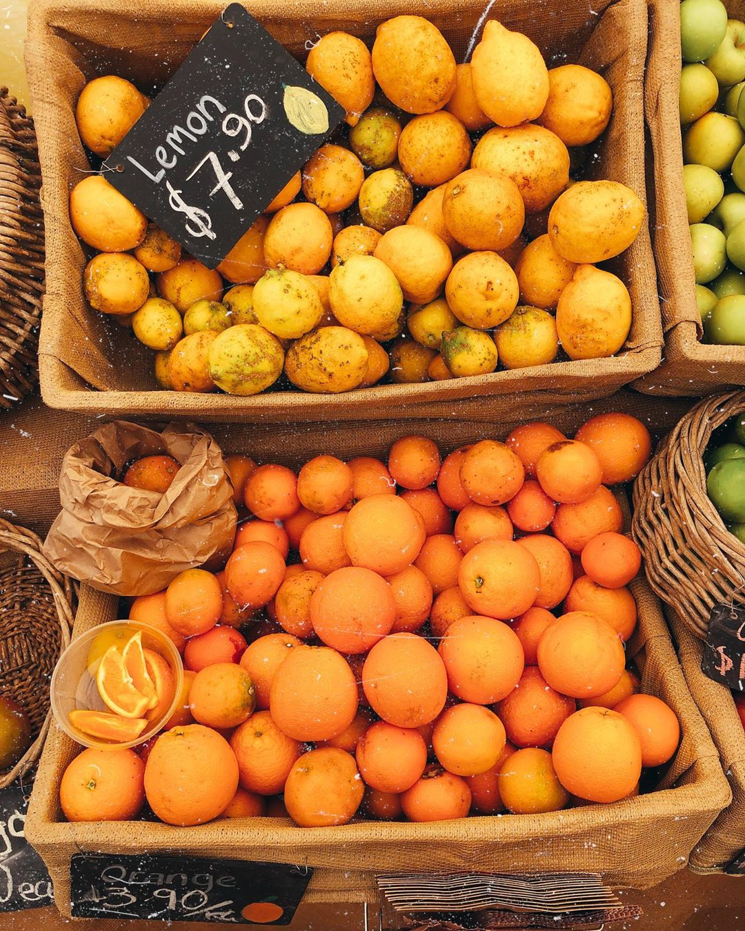 farmers market citrus fruit