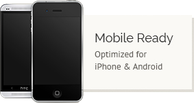 Moble Ready: Optimized for iPhone & Android