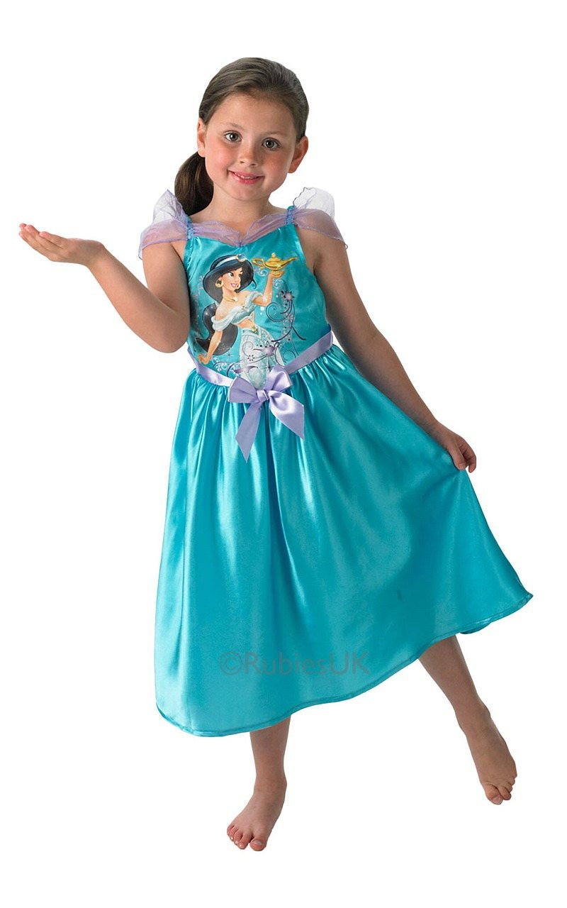 Girls Princess Jasmine Costume
