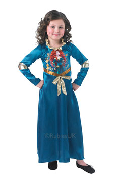 Girls Merida Costume