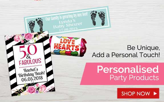 Personalised Party Products