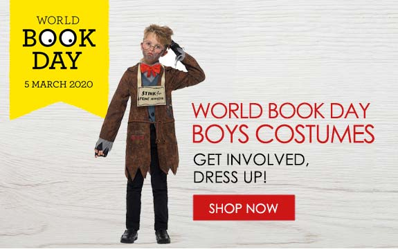 world book day costumes for boys