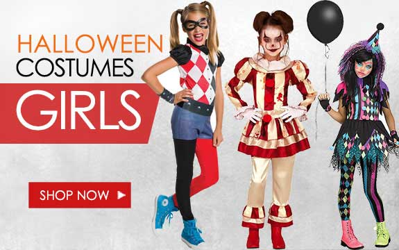 Girls Halloween Costumes 2019 , PartyWorld