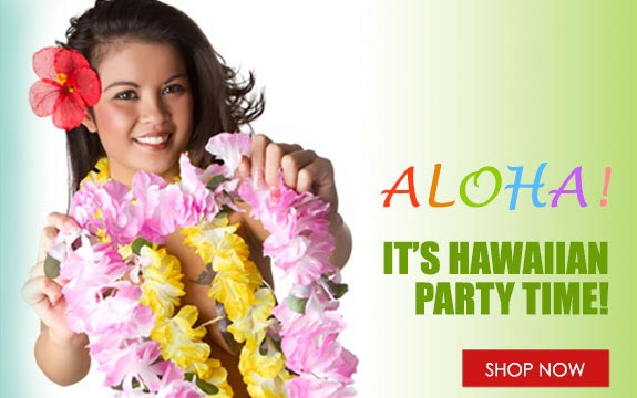 Hawaiian Party Props