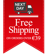 free shipping on orders over €39