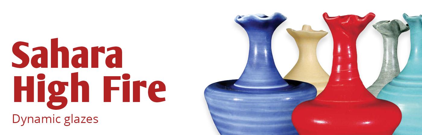 Sahara (HF) Glaze High Fire (Cone 5-6) Lead Free, AMACO Sahara High Fire Glazes