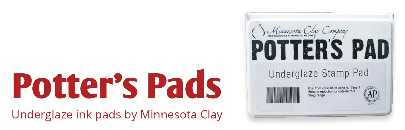 underglaze ink pad, minnesota clay