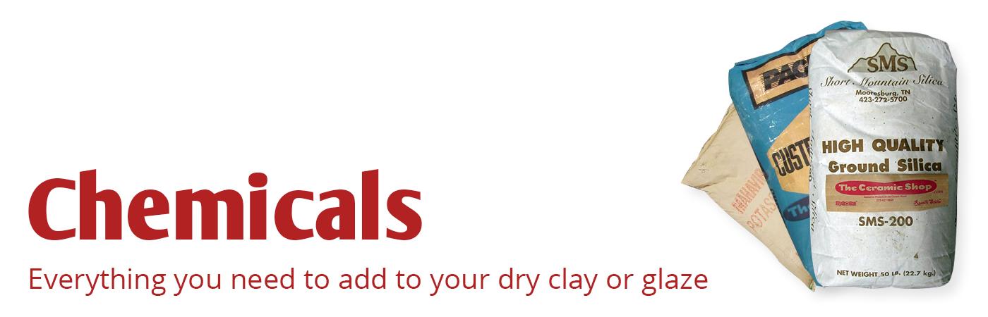 Chemicals, Dry Chemicals, ceramic chemicals