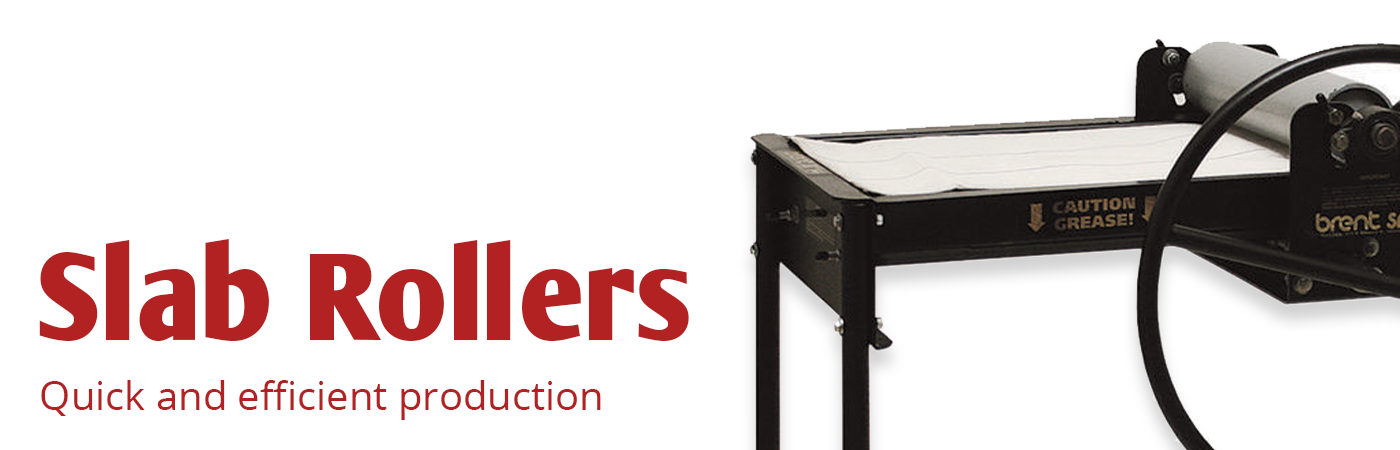 slab rollers for your studio or classroom available on SALE at The Ceramic Shop!