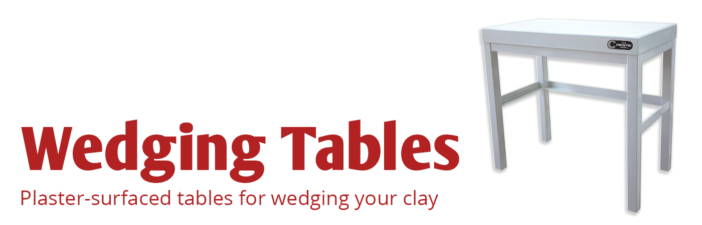 wedging, wedge, clay, wedging tables, tables, plaster, plaster tables, plaster wedging tables, wedge clay, table for wedging, the ceramic shop, ceramics, pottery, ceramic wedging