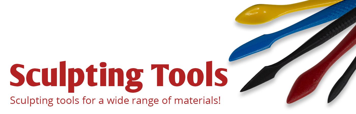 sculpting tools, ceramic sculpting, sculpt clay, loop tools