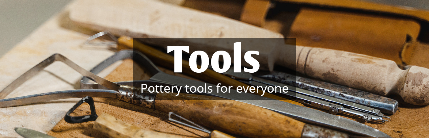 banding wheels, pottery tools, brush, wire cutter, trimming tool, dolan, xiem, sponges, ribs, bamboo tools, classroom sets, pottery toolkits, sculpting