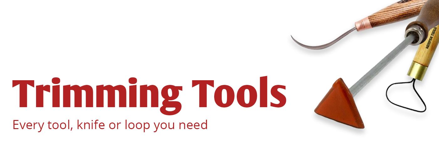 trimming, trimming tools, ceramic, ceramics, sale, pottery, tool, knife, loop