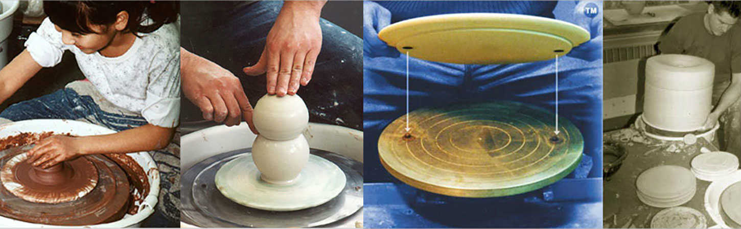 The ceramic shop hydrobat wheel throwing