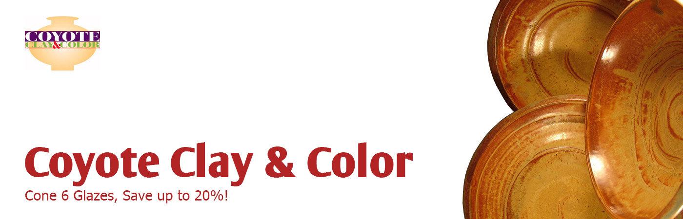 coyote glaze ceramic glazes discounted sale